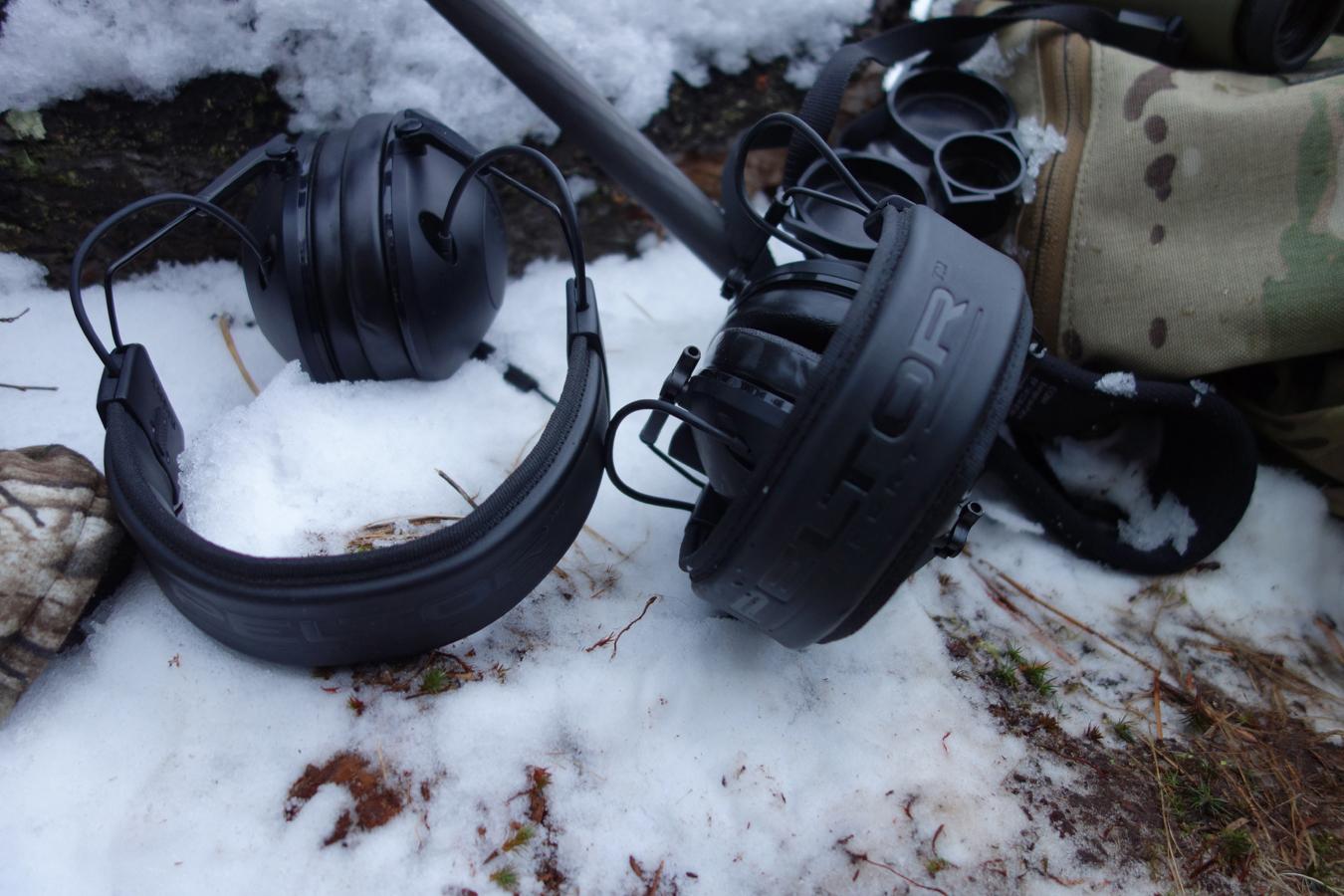 Peltor Tactical 100 on deer hunt