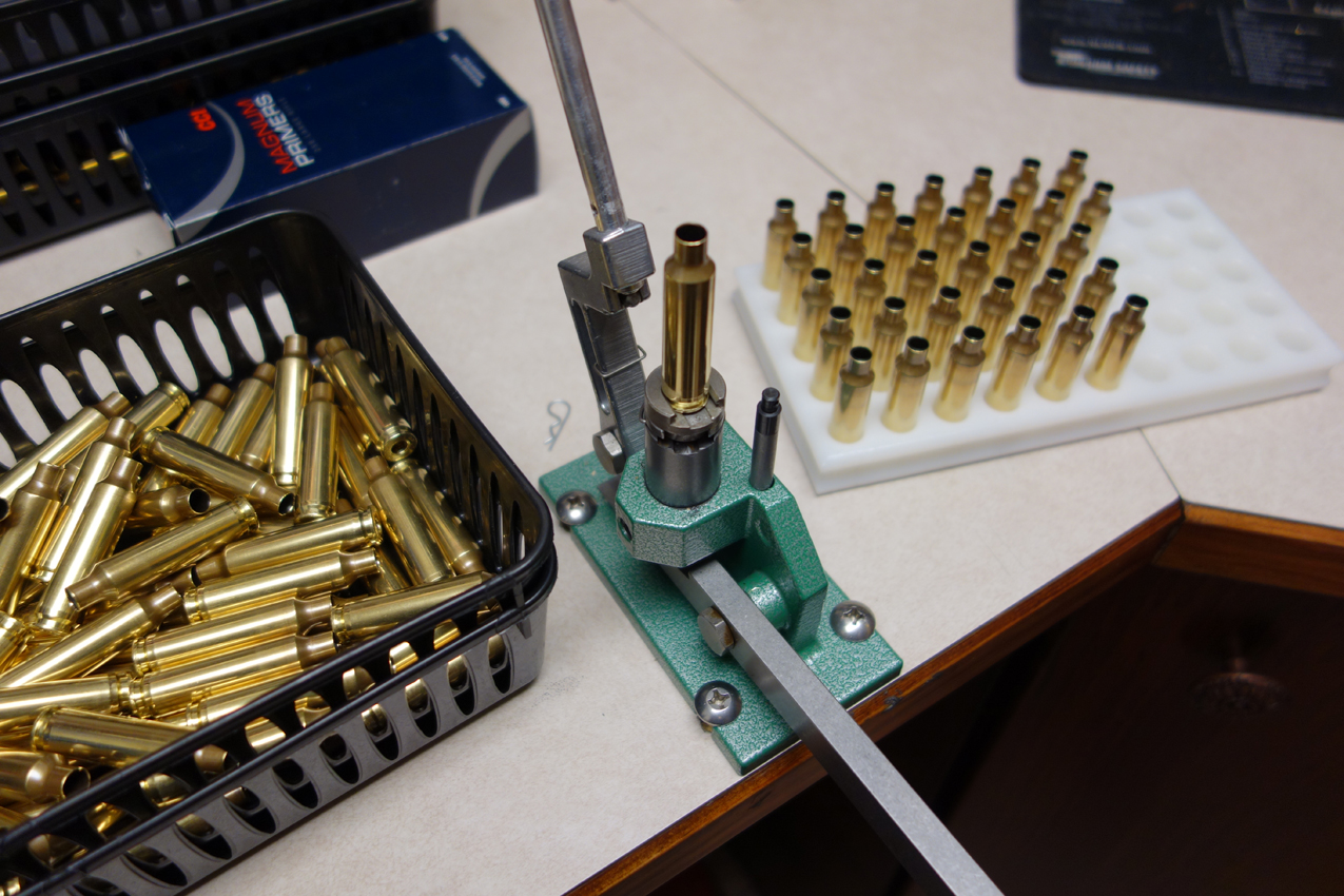 Priming 260 Terminator cases with the RCBS Automatic Priming Tool